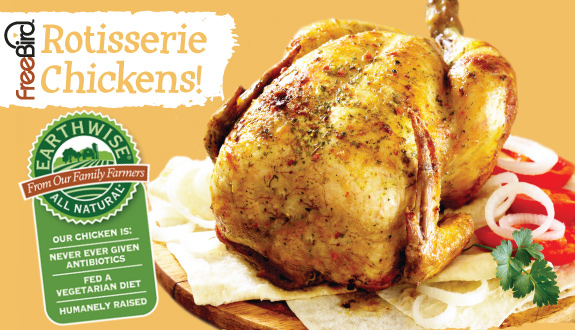 Honest Weight Food Co Op Rotisserie Chickens