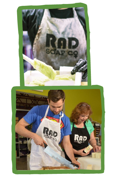 two RAD Soap photos