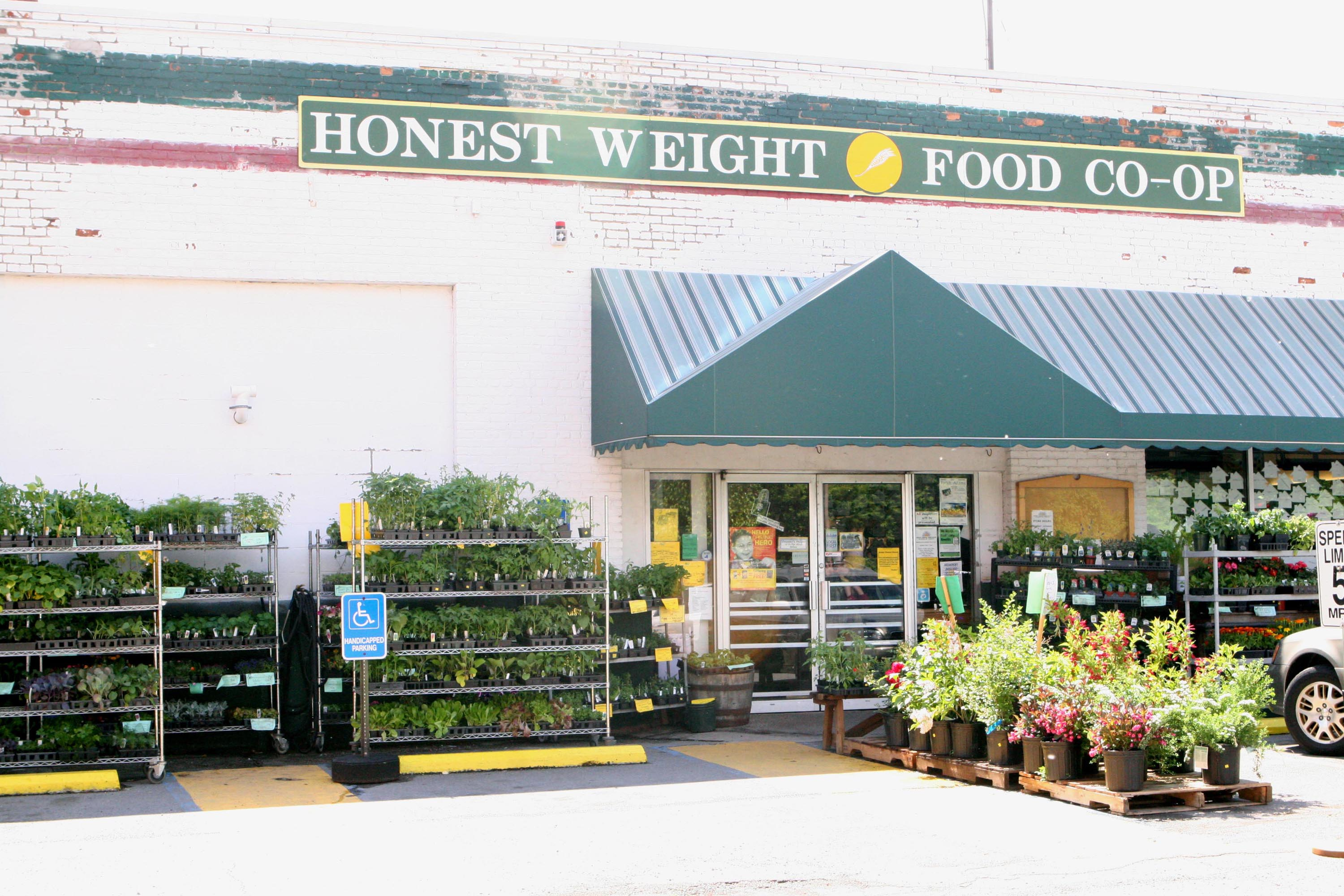 Honest Weight's second location's storefront on Central Ave in Albany, NY
