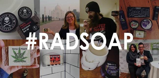 Rad Soap photo collage