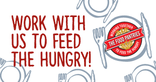 Work with us to feed the hungry